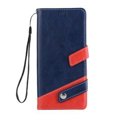 For Samsung Galaxy Note 8 Cover Card Holder Wallet Shockproof With Stand Full Body Case Solid Color Hard PU Leather