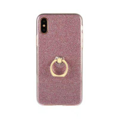 Finger Ring Holder Cell Glossy Glitter Powder 5 Color Available  Case for iPhone XiPhone Cases/Covers<br>Finger Ring Holder Cell Glossy Glitter Powder 5 Color Available  Case for iPhone X<br><br>Compatible for Apple: iPhone X<br>Features: Back Cover, Cases with Stand, Stickers, Button Protector<br>Material: TPU<br>Package Contents: 1 x Phone Case<br>Package size (L x W x H): 20.00 x 10.00 x 2.00 cm / 7.87 x 3.94 x 0.79 inches<br>Package weight: 0.0400 kg<br>Product weight: 0.0300 kg<br>Style: Glossy, Crystal Surface