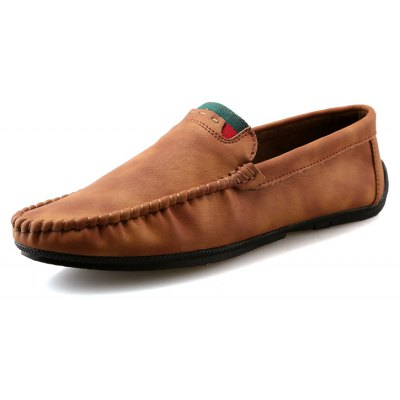 Men Autumn and Winter Casual Fashion Outdoor Driving Shoes Slip on LoafersFlats &amp; Loafers<br>Men Autumn and Winter Casual Fashion Outdoor Driving Shoes Slip on Loafers<br><br>Available Size: 39-44<br>Closure Type: Slip-On<br>Embellishment: None<br>Gender: For Men<br>Insole Material: PU<br>Lining Material: PU<br>Occasion: Casual<br>Outsole Material: Rubber<br>Package Contents: 1 x Shoes(pair)<br>Pattern Type: Solid<br>Season: Spring/Fall, Summer, Winter<br>Shoe Width: Medium(B/M)<br>Toe Shape: Round Toe<br>Toe Style: Closed Toe<br>Upper Material: PU<br>Weight: 1.2800kg