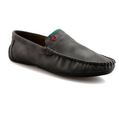 Men Autumn and Winter Casual Fashion Outdoor Driving Shoes Slip on Loafers