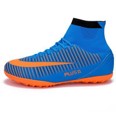 Mens Sports Shoes Color Block Lacing Fashion Football ShoesAthletic Shoes<br>Mens Sports Shoes Color Block Lacing Fashion Football Shoes<br><br>Available Size: 38-46<br>Closure Type: Lace-Up<br>Feature: Breathable<br>Gender: For Men<br>Outsole Material: Rubber<br>Package Contents: 1 x shoes?pair?<br>Pattern Type: Geometric<br>Season: Spring/Fall<br>Upper Material: PU<br>Weight: 1.3376kg