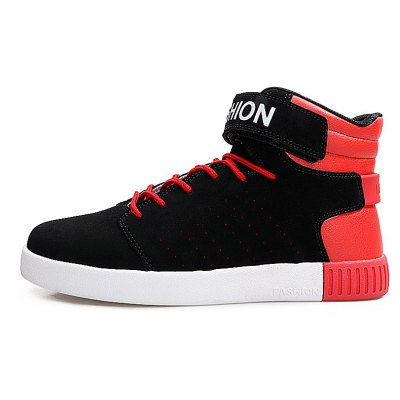 Mens Sports Boots Lace Up PU Durable Flat High Top ShoesCasual Shoes<br>Mens Sports Boots Lace Up PU Durable Flat High Top Shoes<br><br>Available Size: 39-44<br>Closure Type: Hook / Loop<br>Embellishment: Hollow Out<br>Gender: For Men<br>Outsole Material: Rubber<br>Package Contents: 1 x shoes?pair?<br>Pattern Type: Dot<br>Season: Summer, Winter, Spring/Fall<br>Toe Shape: Round Toe<br>Toe Style: Closed Toe<br>Upper Material: Flock<br>Weight: 1.3376kg