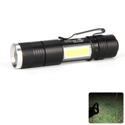UltraFire MINI - COB2 250 Lumens XPE 4-Stop Telescopic Flashlight