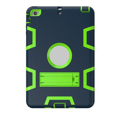 Armor Shockproof Heavy Duty Silicon + PC Stand Back Case Cover for iPad Mini 1 / 2 / 3