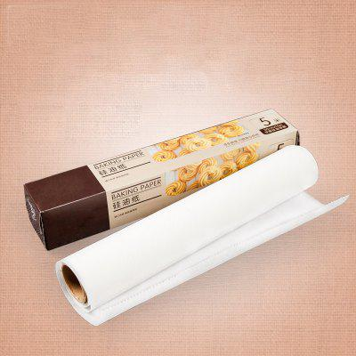DIHE Baking Cake Pastry Paper Anti-Oil Waterproof Anti-StickingOther Kitchen Accessories<br>DIHE Baking Cake Pastry Paper Anti-Oil Waterproof Anti-Sticking<br><br>Brand: DIHE<br>Material: Paper<br>Package Contents: 1 x Oil Paper<br>Package size (L x W x H): 5.00 x 5.00 x 30.00 cm / 1.97 x 1.97 x 11.81 inches<br>Package weight: 0.1530 kg<br>Product size (L x W x H): 500.00 x 0.10 x 30.00 cm / 196.85 x 0.04 x 11.81 inches<br>Product weight: 0.1500 kg<br>Type: Other Kitchen Accessories