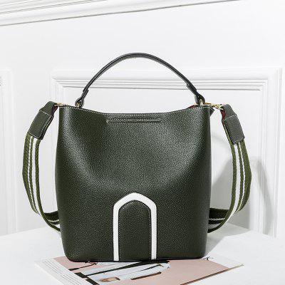 Womens Handbag Solid Color Roomy BagHandbags<br>Womens Handbag Solid Color Roomy Bag<br><br>Closure Type: Magnetic Closure<br>Embellishment: Criss-Cross<br>Exterior: Solid Bag<br>Gender: For Women<br>Handbag Size: Small(20-30cm)<br>Handbag Type: Totes<br>Lining Material: Polyester<br>Main Material: PU<br>Number of Handles / Straps: Two<br>Package Contents: 1 x Bag<br>Package size (L x W x H): 27.00 x 18.00 x 29.00 cm / 10.63 x 7.09 x 11.42 inches<br>Package weight: 1.3000 kg<br>Pattern Type: Solid<br>Product weight: 1.1000 kg<br>Shape: Hobos,Bucket,Casual Tote,Composite Bag<br>Size(CM)(L*W*H): 24x15x26<br>Style: Fashion<br>Weight: 2.8188kg