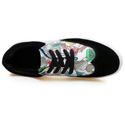Autumn Fashion Print Flat ShoesCasual Shoes<br>Autumn Fashion Print Flat Shoes<br><br>Available Size: 39 40 41 42 43 44<br>Closure Type: Lace-Up<br>Embellishment: None<br>Gender: For Men<br>Outsole Material: Rubber<br>Package Contents: 1?Shoes(pair)<br>Pattern Type: Others<br>Season: Spring/Fall<br>Toe Shape: Round Toe<br>Toe Style: Closed Toe<br>Upper Material: PU<br>Weight: 1.0200kg
