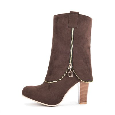 Womens Shoes Leatherette Winter Fashion Round Toe Mid-Calf BootsWomens Boots<br>Womens Shoes Leatherette Winter Fashion Round Toe Mid-Calf Boots<br><br>Boot Height: Mid-Calf<br>Boot Tube Circumference: 31<br>Boot Tube Height: 16<br>Boot Type: Fashion Boots<br>Closure Type: Zip<br>Embellishment: Beading<br>Gender: For Women<br>Heel Height: 9<br>Heel Height Range: High(3-3.99)<br>Heel Type: Chunky Heel<br>Insole Material: PU<br>Lining Material: PU<br>Outsole Material: Rubber<br>Package Contents: 1xShoes(pair)<br>Pattern Type: Solid<br>Platform Height: 1<br>Season: Winter<br>Shoe Width: Medium(B/M)<br>Toe Shape: Round Toe<br>Upper Material: PU<br>Weight: 2.2500kg