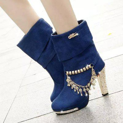 Ladies Fashion High Sleeve Waterproof Table Knight BootsWomens Boots<br>Ladies Fashion High Sleeve Waterproof Table Knight Boots<br><br>Boot Height: Mid-Calf<br>Boot Type: Fashion Boots<br>Closure Type: Slip-On<br>Gender: For Women<br>Heel Type: Chunky Heel<br>Package Contents: 1 x Shoes?Pair?<br>Pattern Type: Solid<br>Season: Spring/Fall, Winter<br>Toe Shape: Round Toe<br>Upper Material: Flock<br>Weight: 1.1200kg
