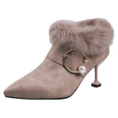 LSD-9988 Pointed High Heels Plush Comfortable Martin BootsWomens Boots<br>LSD-9988 Pointed High Heels Plush Comfortable Martin Boots<br><br>Boot Height: Ankle<br>Boot Type: Fashion Boots<br>Closure Type: Zip<br>Gender: For Women<br>Heel Type: Stiletto Heel<br>Package Contents: 1 x Shoes?pair?<br>Pattern Type: Solid<br>Season: Spring/Fall, Winter<br>Toe Shape: Pointed Toe<br>Upper Material: Flock<br>Weight: 1.1000kg