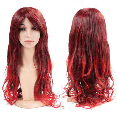 Women Full Hair Wig Long Wavy Curly Wave Heat Resistant for Cosplay Party Costume Halloween Daily 26 inch