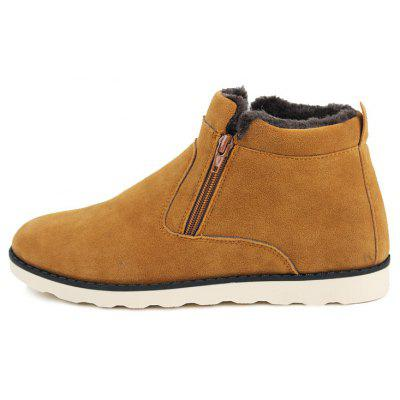 Lover Casual New Trend for Fashion Outdoor Slip on Suede Rubber Flat Boots Raleigh Used goods