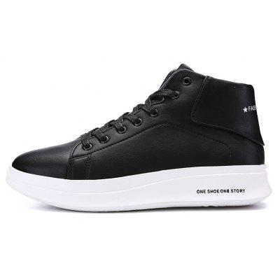 """Men Casual New Trend for Fashion Outdoor Lace Up Rubber Flat Leather BootsMens Boots<br>Men Casual New Trend for Fashion Outdoor Lace Up Rubber Flat Leather Boots<br><br>Boot Height: Ankle<br>Boot Type: Fashion Boots<br>Closure Type: Lace-Up<br>Embellishment: None<br>Gender: For Men<br>Heel Hight: Flat(0-0.5"""")<br>Heel Type: Flat Heel<br>Outsole Material: Rubber<br>Package Contents: 1?Shoes(pair)<br>Pattern Type: Solid<br>Season: Winter, Spring/Fall<br>Toe Shape: Round Toe<br>Upper Material: Leather<br>Weight: 1.2000kg"""