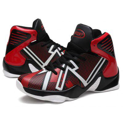 Basketball Shoes Breathable Jogging Walking Athletic SneakersAthletic Shoes<br>Basketball Shoes Breathable Jogging Walking Athletic Sneakers<br><br>Available Size: 39-46<br>Closure Type: Lace-Up<br>Feature: Breathable<br>Gender: For Men<br>Outsole Material: Rubber<br>Package Contents: 1?Shoes(pair)<br>Pattern Type: Others<br>Season: Winter<br>Shoe Width: Medium(B/M)<br>Upper Material: PU<br>Weight: 1.2000kg