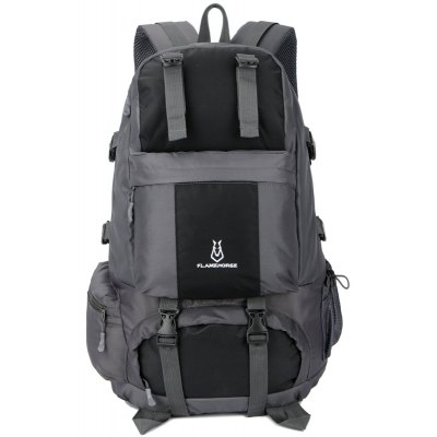 FLAMEHORSE Outdoor Mountaineer Bag 50L Large Capacity Nylon Waterproof Travel Backpack only $30.99