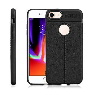 Buy BLACK Thin Color TPU Protection Soft Shell Cover Case for iPhone 8 for $2.67 in GearBest store