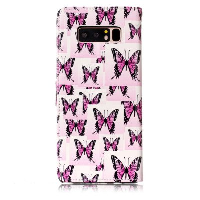 Embossed Butterfly Pattern Leather Cover Case for Samsung Galaxy Note 8Samsung Note Series<br>Embossed Butterfly Pattern Leather Cover Case for Samsung Galaxy Note 8<br><br>Features: Full Body Cases<br>Material: Genuine Leather, TPU<br>Package Contents: 1 x Phone Case<br>Package size (L x W x H): 18.00 x 8.00 x 2.00 cm / 7.09 x 3.15 x 0.79 inches<br>Package weight: 0.0720 kg<br>Product size (L x W x H): 16.50 x 8.20 x 1.50 cm / 6.5 x 3.23 x 0.59 inches<br>Product weight: 0.0700 kg<br>Style: Leather, Pattern
