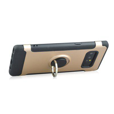 Slim Carbon Fiber Ring Bracket Phone Case for Samsung Galaxy Note 8Samsung Note Series<br>Slim Carbon Fiber Ring Bracket Phone Case for Samsung Galaxy Note 8<br><br>Features: Full Body Cases, Cases with Stand<br>Material: TPU, PC<br>Package Contents: 1 x Phone Case<br>Package size (L x W x H): 20.00 x 9.50 x 1.00 cm / 7.87 x 3.74 x 0.39 inches<br>Package weight: 0.0470 kg<br>Product size (L x W x H): 16.50 x 7.60 x 0.90 cm / 6.5 x 2.99 x 0.35 inches<br>Product weight: 0.0450 kg<br>Style: Novelty