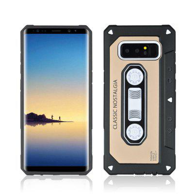 Ultra-thin Nostalgic Tape Style Phone Case for Samsung Galaxy Note 8