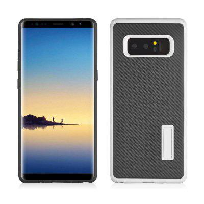 Ultra-thin Carbon Fiber Bracket Phone Case for Samsung Galaxy Note 8Samsung Note Series<br>Ultra-thin Carbon Fiber Bracket Phone Case for Samsung Galaxy Note 8<br><br>Features: Back Cover, Cases with Stand<br>Material: TPU, Carbon, PC<br>Package Contents: 1 x Phone Case<br>Package size (L x W x H): 19.50 x 10.30 x 1.00 cm / 7.68 x 4.06 x 0.39 inches<br>Package weight: 0.0450 kg<br>Product size (L x W x H): 16.50 x 7.80 x 0.90 cm / 6.5 x 3.07 x 0.35 inches<br>Product weight: 0.0430 kg<br>Style: Fashion