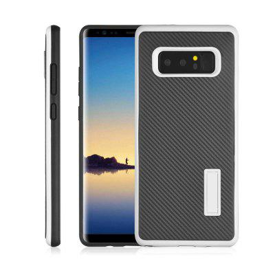 Ultra-thin Carbon Fiber Bracket Phone Case for Samsung Galaxy Note 8