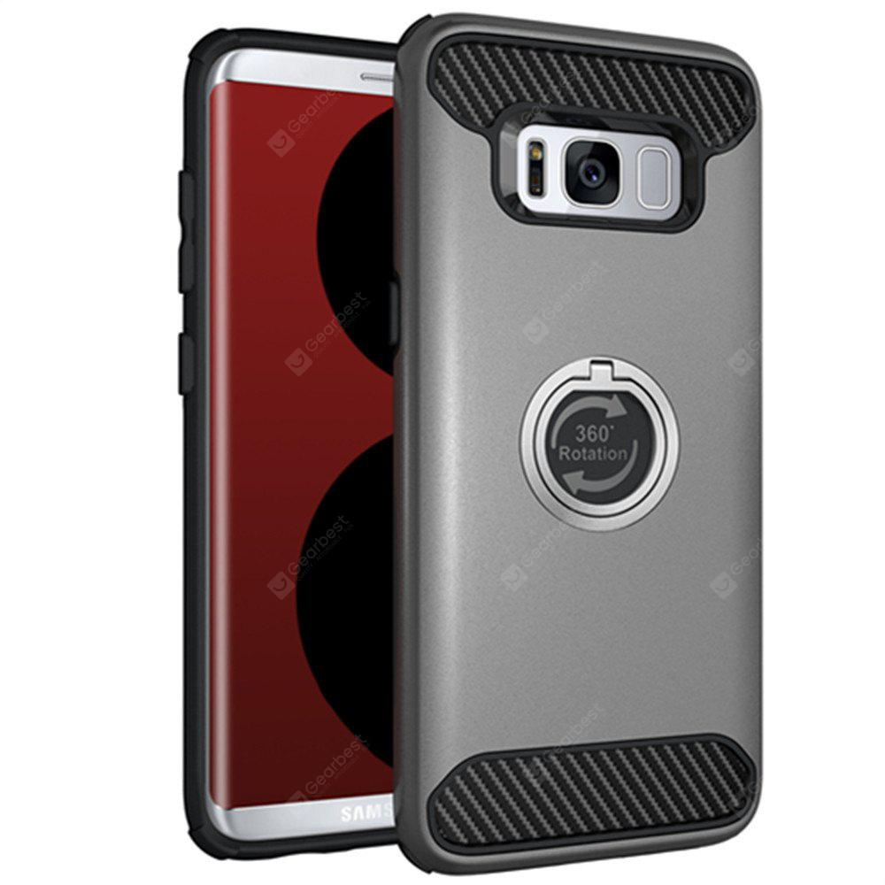 306 Degree Revolving Ring Fashion Cell Phone Shell Case for Samsung Galaxy S8