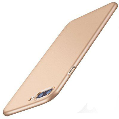 Buy GOLDEN For iPhone 8 Plus / 7 Plus Case Slim Fit Shell Hard Plastic Full Protective Anti-Scratch Resistant Mobile Phone Back Shell for $2.86 in GearBest store
