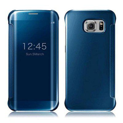 For Samsung Galaxy S8 Plus Mobile Phone Protection Shell Mirror with Support Case