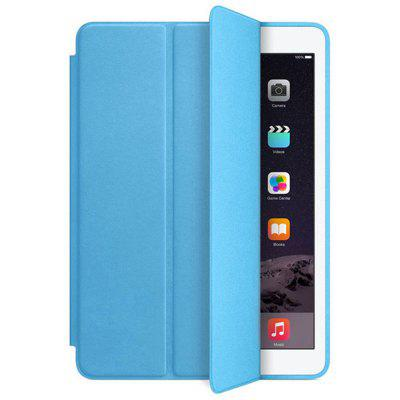 Buy LIGHT BLUE Ultra Slim Smart 3 Folding Stand Auto Sleep Wake Back for iPad Pro 10.5 Case Cover for $7.64 in GearBest store