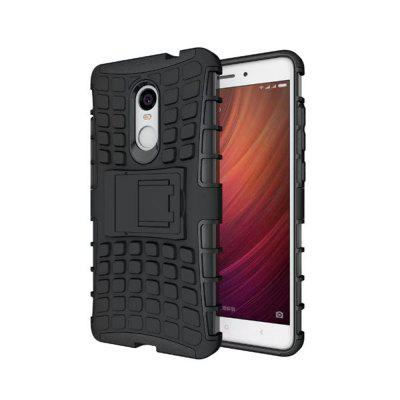 Rugged Spider Armor Heavy Duty Hybrid TPU Silicone Stand Impact Cover for Xiaomi RedMi Note 4 Case