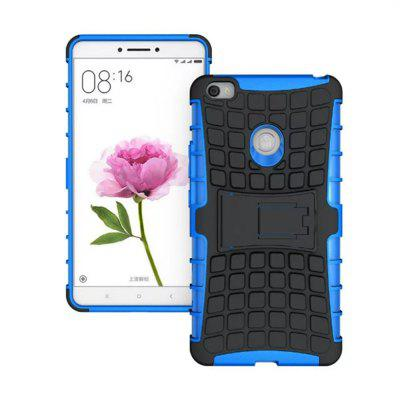 Buy BLUE Rugged Spider Armor Heavy Duty Hybrid TPU Silicone Stand Impact Cover for Xiaomi Mi Max Case for $4.45 in GearBest store