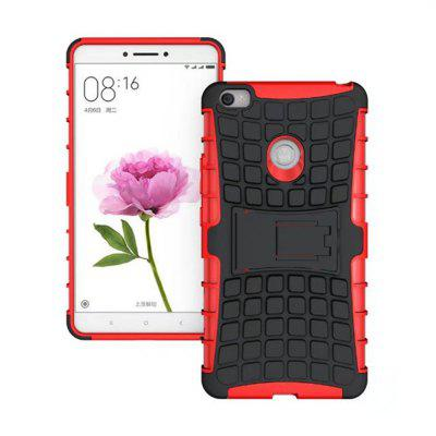 Buy RED Rugged Spider Armor Heavy Duty Hybrid TPU Silicone Stand Impact Cover for Xiaomi Mi Max Case for $4.45 in GearBest store