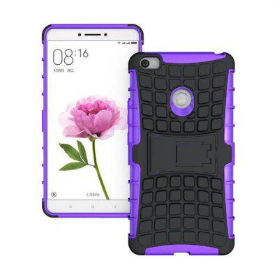 Buy PURPLE Rugged Spider Armor Heavy Duty Hybrid TPU Silicone Stand Impact Cover for Xiaomi Mi Max Case for $4.45 in GearBest store