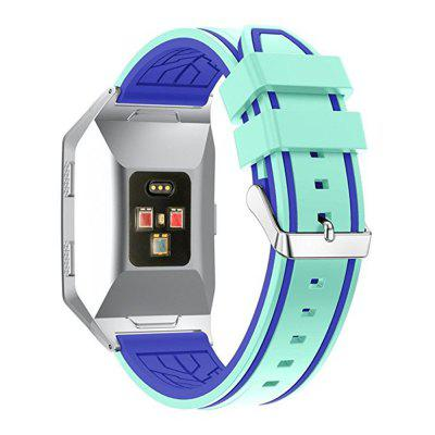 Silicone Double Color Bottom Flower Bands Strap For Fitbit IonicSmart Watch Accessories<br>Silicone Double Color Bottom Flower Bands Strap For Fitbit Ionic<br><br>Package Contents: 1 x Watch Band With Adapter<br>Package size: 15.00 x 6.00 x 1.00 cm / 5.91 x 2.36 x 0.39 inches<br>Package weight: 0.0280 kg<br>Product size: 12.00 x 3.00 x 1.00 cm / 4.72 x 1.18 x 0.39 inches<br>Product weight: 0.0270 kg