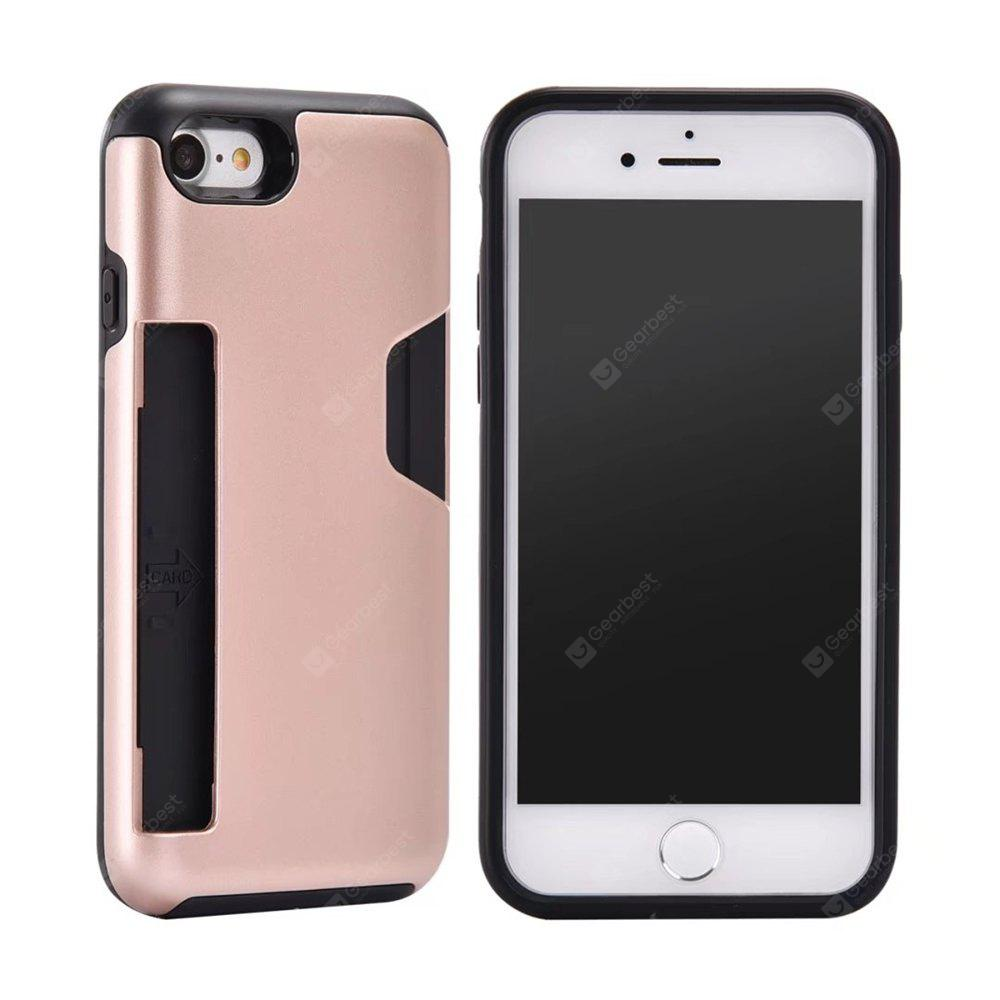 Heavy Duty Protection Dirt Proof PC y TPU Phone Case para iPhone 7/8