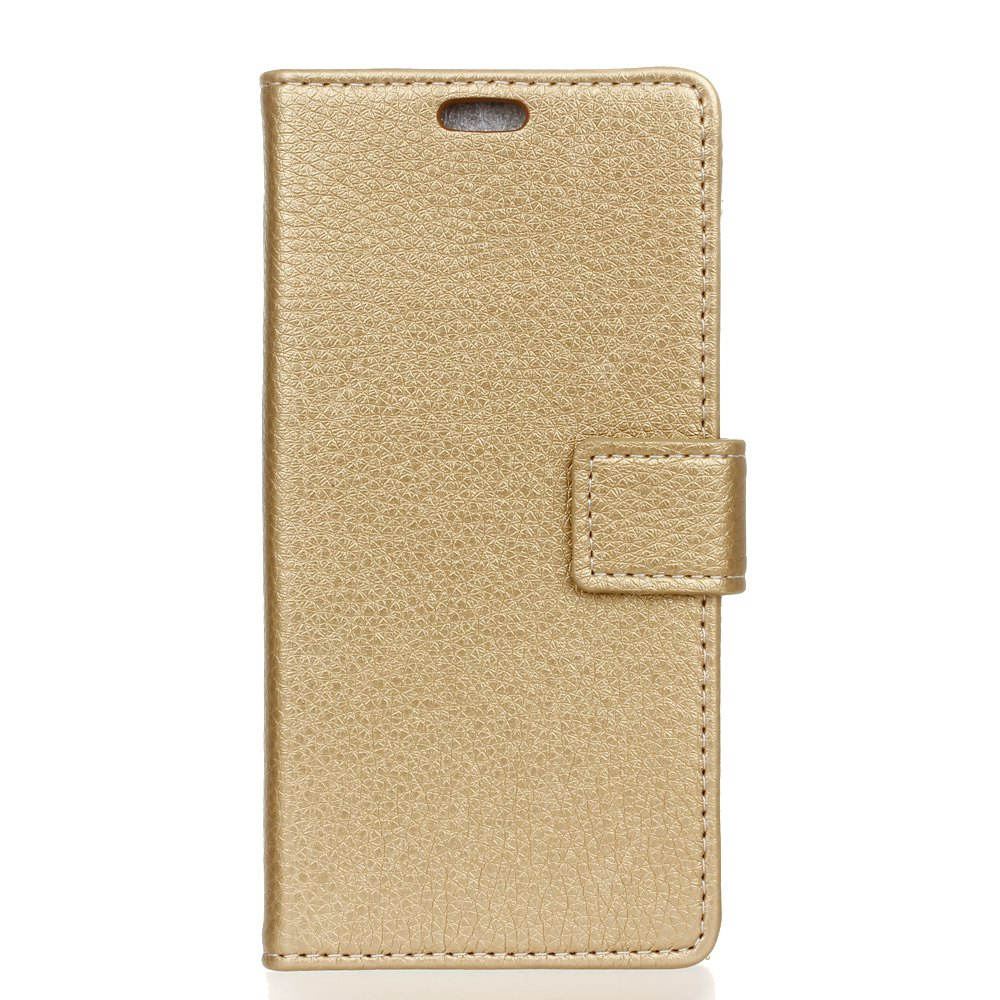 Litchi Pattern PU Leather Wallet Case for  LG K10 2017