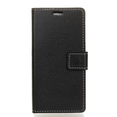 Litchi Pattern PU Leather Wallet Case for Xiaomi 6 Plus