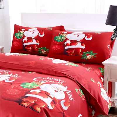 3D Cartoon Bedding Sets Merry Christmas Gift Santa Claus Bedclothes Duvet Quilt Cover Bed Sheet 2 PillowcasesBedding Sets<br>3D Cartoon Bedding Sets Merry Christmas Gift Santa Claus Bedclothes Duvet Quilt Cover Bed Sheet 2 Pillowcases<br><br>Package Contents: 1 x Duvet Cover, 2 x Pillowcases, 1 x Bed Sheet<br>Package size (L x W x H): 28.00 x 25.00 x 6.00 cm / 11.02 x 9.84 x 2.36 inches<br>Package weight: 1.7000 kg<br>Product weight: 1.6500 kg