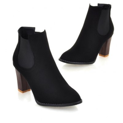 Womens Pointed Chelsea Short BootsWomens Boots<br>Womens Pointed Chelsea Short Boots<br><br>Boot Height: Ankle<br>Boot Type: Fashion Boots<br>Closure Type: Slip-On<br>Gender: For Women<br>Heel Type: Chunky Heel<br>Package Contents: 1 x Shoes(pair)<br>Pattern Type: Patchwork<br>Season: Winter, Spring/Fall<br>Toe Shape: Pointed Toe<br>Upper Material: Flock<br>Weight: 1.2320kg