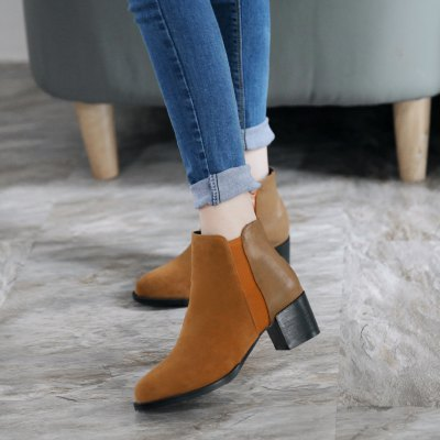 New Rough Heel Foot Womens BootsWomens Boots<br>New Rough Heel Foot Womens Boots<br><br>Boot Height: Ankle<br>Boot Type: Fashion Boots<br>Closure Type: Slip-On<br>Gender: For Women<br>Heel Type: Chunky Heel<br>Package Contents: 1 x Shoes(pair)<br>Pattern Type: Solid<br>Season: Winter<br>Toe Shape: Round Toe<br>Upper Material: Flock<br>Weight: 1.7732kg