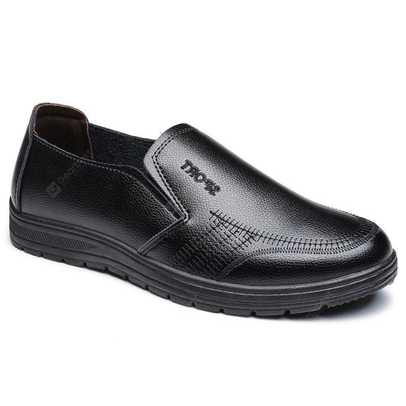 BLACK 44 Men'S Business Casual Shoes Dad Casual Shoes