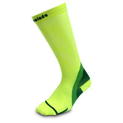 Buy NEON GREEN Antibacterial and Deodorant Viowinds Muscle Energy Socks for $16.50 in GearBest store