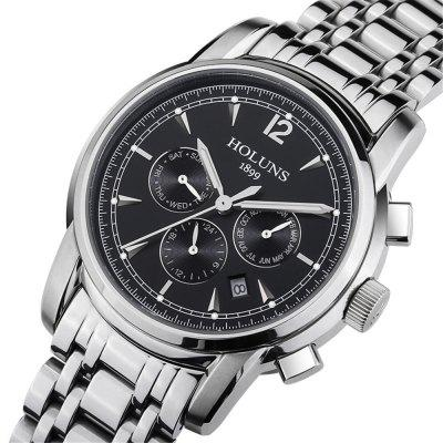 HOLUNS 4872 Men Business Casual Steel Band Automatic Mechanical WatchMens Watches<br>HOLUNS 4872 Men Business Casual Steel Band Automatic Mechanical Watch<br><br>Band material: Fine steel<br>Band size: 24.5 x 2.2cm<br>Brand: HOLUNS<br>Case material: Alloy<br>Clasp type: Folding clasp with safety<br>Dial size: 4.4 x 4.4 x 1.25cm<br>Display type: Analog<br>Movement type: Automatic mechanical watch<br>Package Contents: 1 x Watch, 1 x Box<br>Package size (L x W x H): 28.00 x 8.00 x 3.50 cm / 11.02 x 3.15 x 1.38 inches<br>Package weight: 0.1610 kg<br>Product size (L x W x H): 24.50 x 4.40 x 1.25 cm / 9.65 x 1.73 x 0.49 inches<br>Product weight: 0.1310 kg<br>Shape of the dial: Round<br>Watch mirror: Mineral glass<br>Watch style: Casual, Business, Fashion<br>Watches categories: Men<br>Water resistance: 50 meters<br>Wearable length: 24.5 - 28.5cm