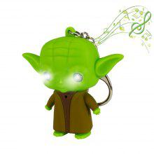 Brelong Music-making Cartoon Keychain with LED Pendant Light