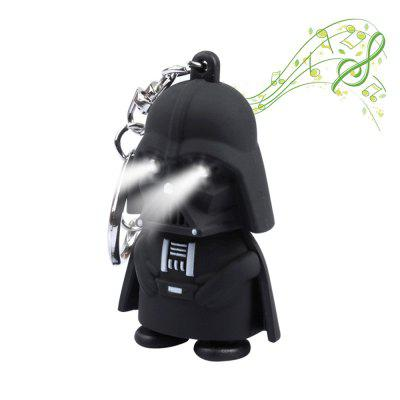 Brelong Music-making Cartoon Keychain with LED Pendant Night Light