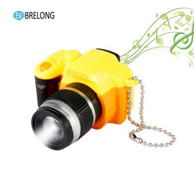Brelong Noise-making Cartoon Keychain with LED Light Pendant