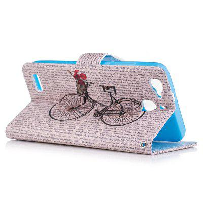 Bicycle Painting Card Lanyard Pu Leather Cover for HUAWEI GR3Cases &amp; Leather<br>Bicycle Painting Card Lanyard Pu Leather Cover for HUAWEI GR3<br><br>Color: Black,White,Blue,Lake blue,Light Gray<br>Features: Full Body Cases, Cases with Stand, With Credit Card Holder<br>Mainly Compatible with: HUAWEI<br>Material: PU Leather, TPU<br>Package Contents: 1 x Case<br>Package size (L x W x H): 14.00 x 8.00 x 2.00 cm / 5.51 x 3.15 x 0.79 inches<br>Package weight: 0.0600 kg<br>Product Size(L x W x H): 13.60 x 7.00 x 1.40 cm / 5.35 x 2.76 x 0.55 inches<br>Product weight: 0.0540 kg<br>Style: Vintage/Nostalgic Euramerican Style, Novelty, Name Brand Style