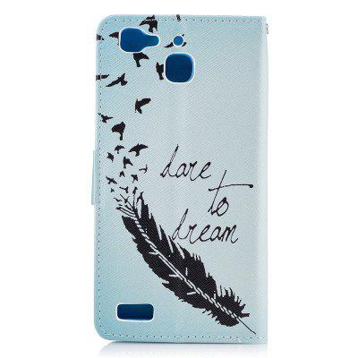 Dandelion Painting Card Lanyard Pu Leather Cover for HUAWEI GR3Cases &amp; Leather<br>Dandelion Painting Card Lanyard Pu Leather Cover for HUAWEI GR3<br><br>Color: Black,White,Blue,Dark blue,Light Pink<br>Features: Full Body Cases, Cases with Stand, With Credit Card Holder<br>Mainly Compatible with: HUAWEI<br>Material: PU Leather, TPU<br>Package Contents: 1 x Case<br>Package size (L x W x H): 14.00 x 8.00 x 2.00 cm / 5.51 x 3.15 x 0.79 inches<br>Package weight: 0.0600 kg<br>Product Size(L x W x H): 13.60 x 7.00 x 1.40 cm / 5.35 x 2.76 x 0.55 inches<br>Product weight: 0.0540 kg<br>Style: Vintage/Nostalgic Euramerican Style, Novelty, Name Brand Style