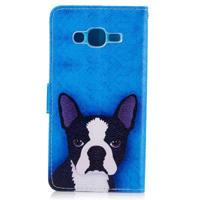 Dog Painting Card Lanyard Pu Leather Cover for Samsung J2 primSamsung J Series<br>Dog Painting Card Lanyard Pu Leather Cover for Samsung J2 prim<br><br>Color: Black,White,Blue,Dark blue,Light Gray<br>Features: Full Body Cases, Cases with Stand, With Credit Card Holder<br>For: Samsung Mobile Phone<br>Material: PU Leather, TPU<br>Package Contents: 1 x Case<br>Package size (L x W x H): 15.00 x 8.00 x 2.00 cm / 5.91 x 3.15 x 0.79 inches<br>Package weight: 0.0700 kg<br>Product size (L x W x H): 14.70 x 7.70 x 1.50 cm / 5.79 x 3.03 x 0.59 inches<br>Product weight: 0.0690 kg<br>Style: Vintage/Nostalgic Euramerican Style, Novelty, Name Brand Style