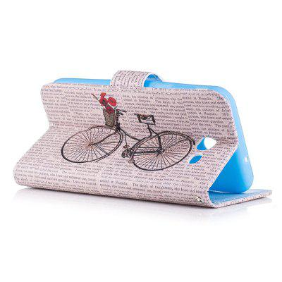 Bicycle Painting Card Lanyard Pu Leather Cover for Samsung J3 primeSamsung J Series<br>Bicycle Painting Card Lanyard Pu Leather Cover for Samsung J3 prime<br><br>Color: Black,Blue,Light blue,Light Gray,Deep Gray<br>Features: Full Body Cases, Cases with Stand, With Credit Card Holder<br>For: Samsung Mobile Phone<br>Material: PU Leather, TPU<br>Package Contents: 1 x Case<br>Package size (L x W x H): 16.00 x 8.00 x 2.00 cm / 6.3 x 3.15 x 0.79 inches<br>Package weight: 0.0700 kg<br>Product size (L x W x H): 14.70 x 7.70 x 1.50 cm / 5.79 x 3.03 x 0.59 inches<br>Product weight: 0.0690 kg<br>Style: Vintage/Nostalgic Euramerican Style, Novelty, Name Brand Style